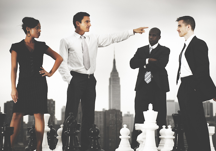 Conflict resolution training for executives
