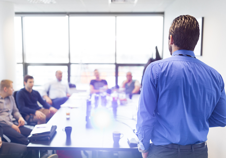 public speaking training for executives managers
